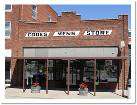 Cook's Mens Store