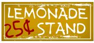 Lemonade Stand 25¢